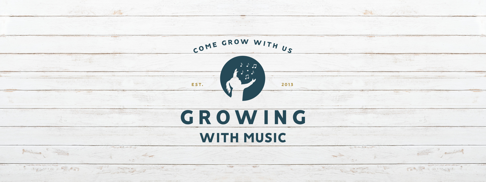 Growing With Music Primary Logo