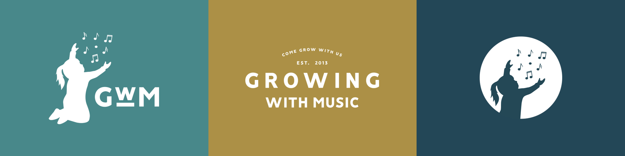 Growing With Music Secondary Logo